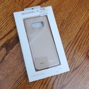 Michael Kors Snap On Phone Case Samsung S8 rose
